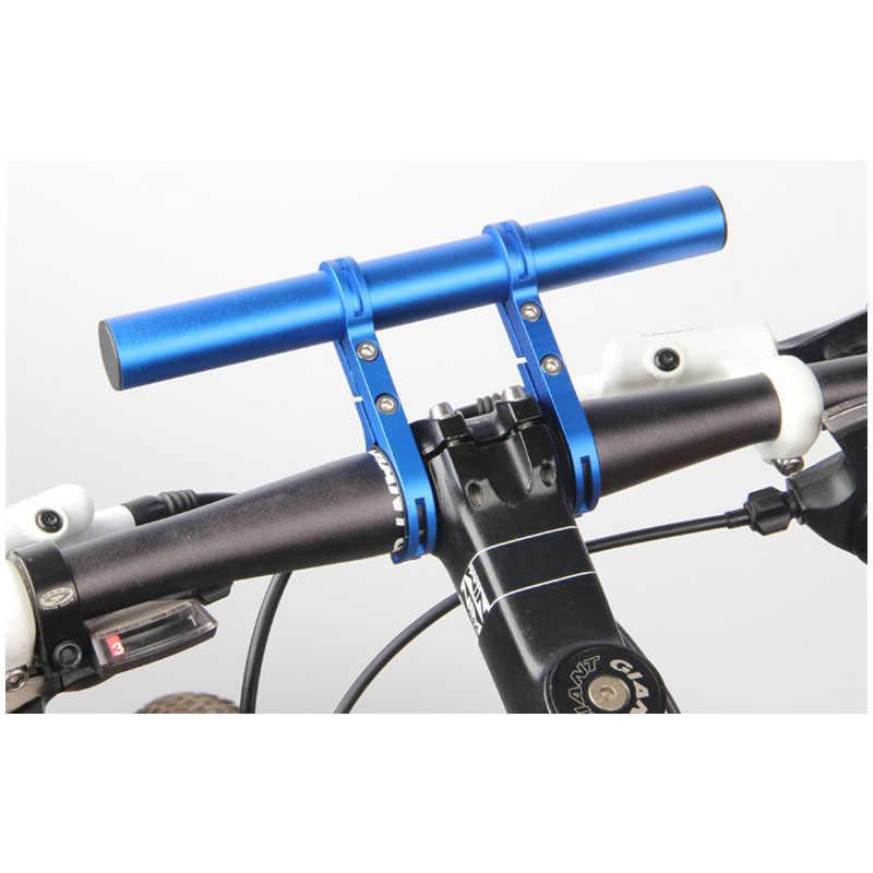 20cm Fahrrad Lenker Extender Taschenlampe Halter MTB Zubehör Verlängerungsstang