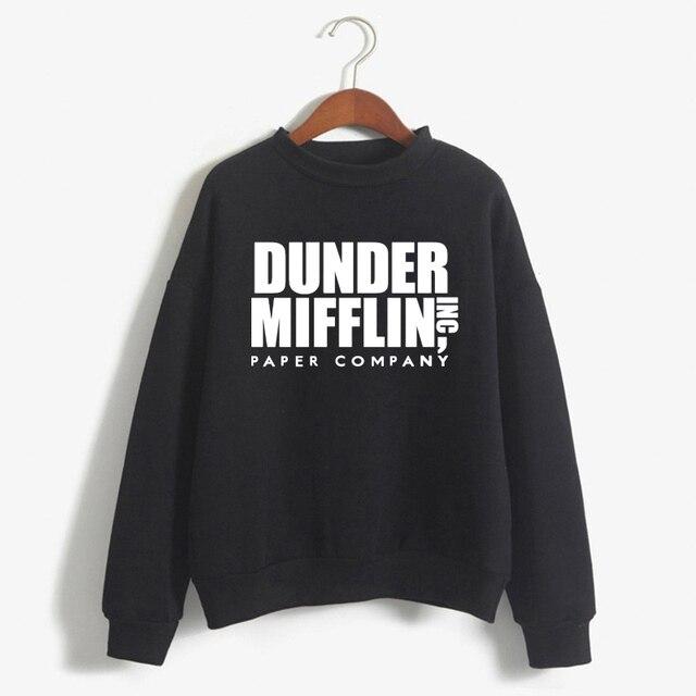 Tops The Office Tv Hoodie Men Women Dunder Mifflin Inc Paper Company Wernham Hogg TV Show Michael Scott Space Sweatshirt 3