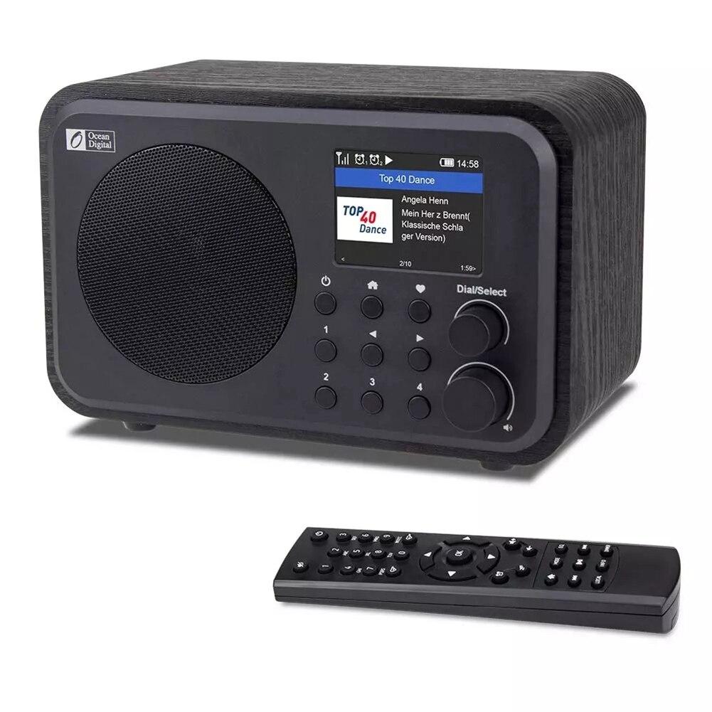 Wi Fi, Интернет радио WR 336N Портативный цифровое радио с Перезаряжаемые Батарея, bluetooth приемник|Радиоприёмники|   | АлиЭкспресс