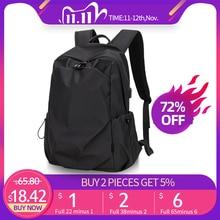 حقيبة ظهر عصرية للرجال بتصميم فارس بطولي مقاس 15.6 بوصة حقيبة ظهر مضادة للماء للرجال للسفر في الهواء الطلق حقيبة مدرسية للمراهقات