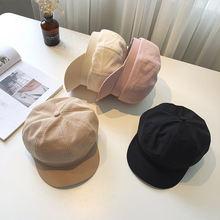 Модная восьмиугольная шляпа унисекс Женская Осенняя моряка для