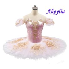 Балетная пачка розового цвета Классический балетный костюм в