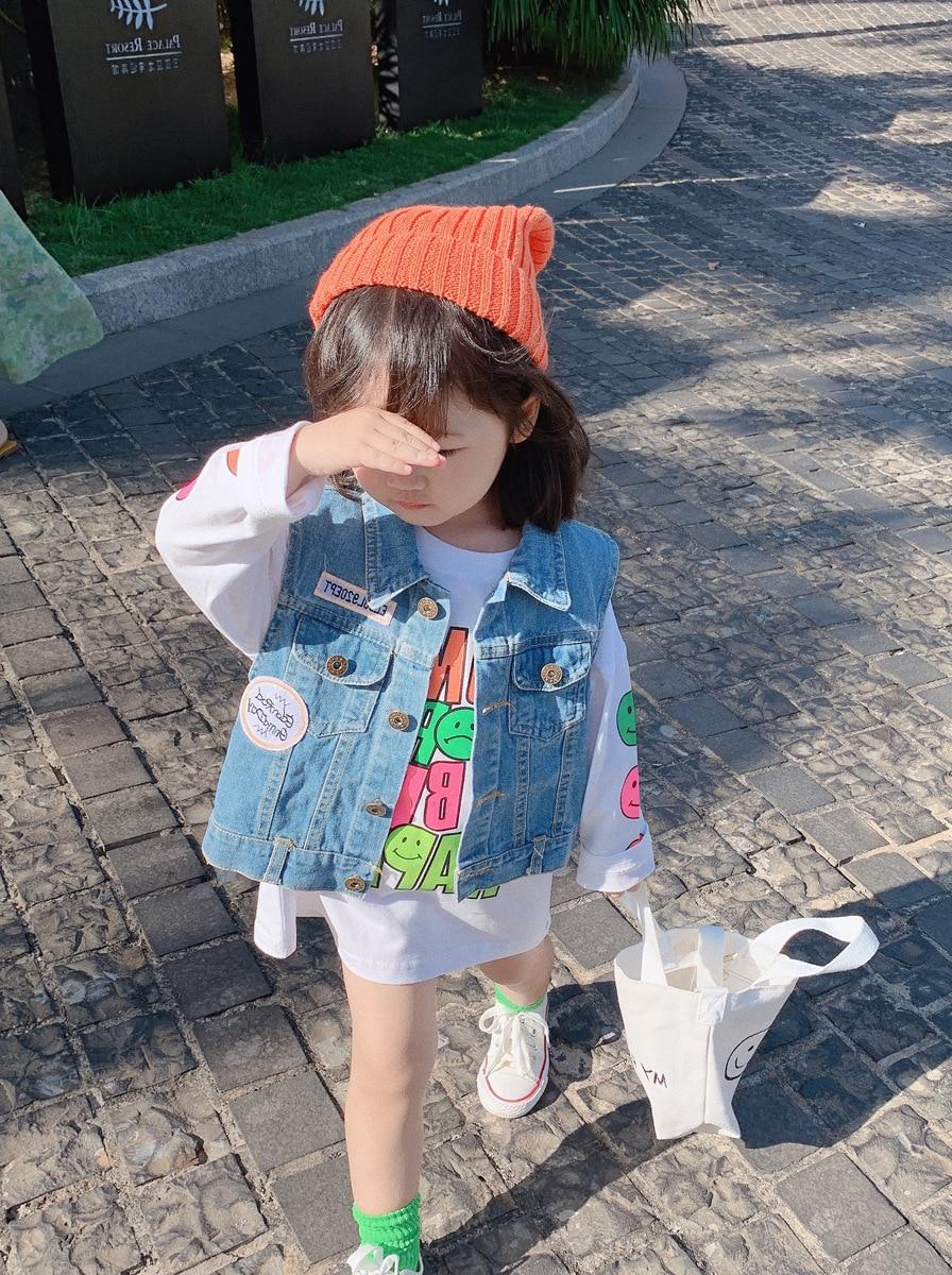 2020 Kids Clothes Girl Children Spring Autumn Long Sleeve Casual Print Cotton Dress 2