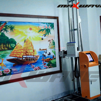 Hot Sale 3D CMYK Vertical Wall Printer Direct To Wall Painting Machine