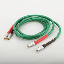 Cabo de áudio hifi para áudio 2328, alta qualidade, cobre puro, hifi, cabo de interconexão rca