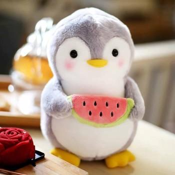 Nowe słodkie i ciepłe pluszowe zabawki Kawaii pingwin poduszka do spania pluszowe zabawki lalka zwierzę pluszowe zabawki poduszki na prezenty urodzinowe dla dzieci tanie i dobre opinie CN (pochodzenie) Tv movie postaci 4-6y 7-12y 12 + y Baby Yoda bird Lalka pluszowa nano Miękkie i pluszowe Unisex Do not eat