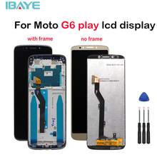LCD Display For Motorola Moto G6 Play Xt1922 XT1922-2 LCD Display Touch Screen Panel Mobile