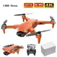 Drone professionale L900 Pro 4K HD doppia fotocamera con GPS 5G WIFI FPV RC Drone pieghevole Quadcopter aerei volanti ad alta quota