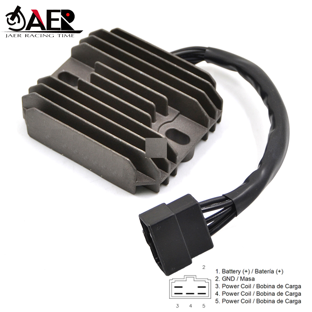 JAER SH640EB Voltage Regulator Rectifier for <font><b>Suzuki</b></font> GSX1300R Hayabusa GSXR600 GSXR750 GSXR1000 <font><b>VL1500</b></font> <font><b>Intruder</b></font> LT-F500F image