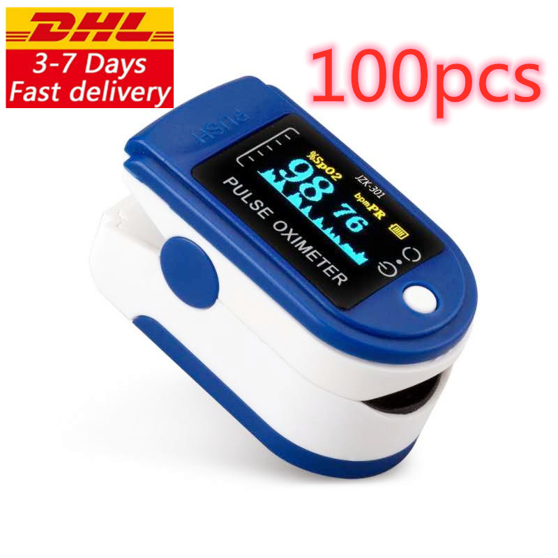 Free-Delivery Pulse-Oximeter Fingertip Lk-87 Ce-Approved DHL by Dhl10/20/50/100pcs Original