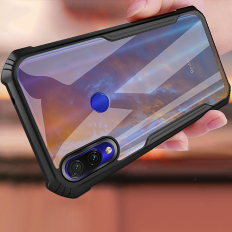 Shockproof case For <font><b>Xiaomi</b></font> <font><b>Redmi</b></font> Note <font><b>7</b></font> pro Transparent <font><b>Back</b></font> <font><b>Cover</b></font> Ultra Thin <font><b>Redmi</b></font> Note <font><b>7</b></font> 7s airbag Mobile Phone Cases Coque image