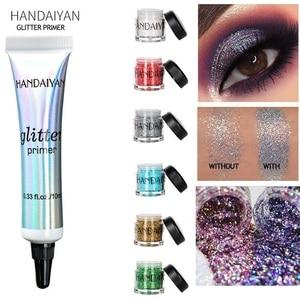 HANDAIYAN Holographic Glitter Sequins Eye Shadow Eye Prime Shimmer Diamond Face Body Shiny Skin Festival Makeup TSLM1