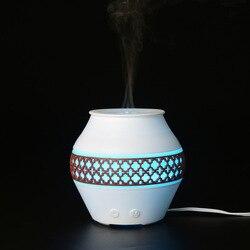 Kreatywny latarnia nawilżacz DC12V 120ml mini rozpylacz do perfum kolorowe światło nocne pulpit OLEJEK ETERYCZNY dyfuzor