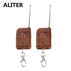 Image 2 - ALITER 0 50m 2 CH RF Wireless Remote Control Dual Button Transmitter 315 MHz/433 MHz
