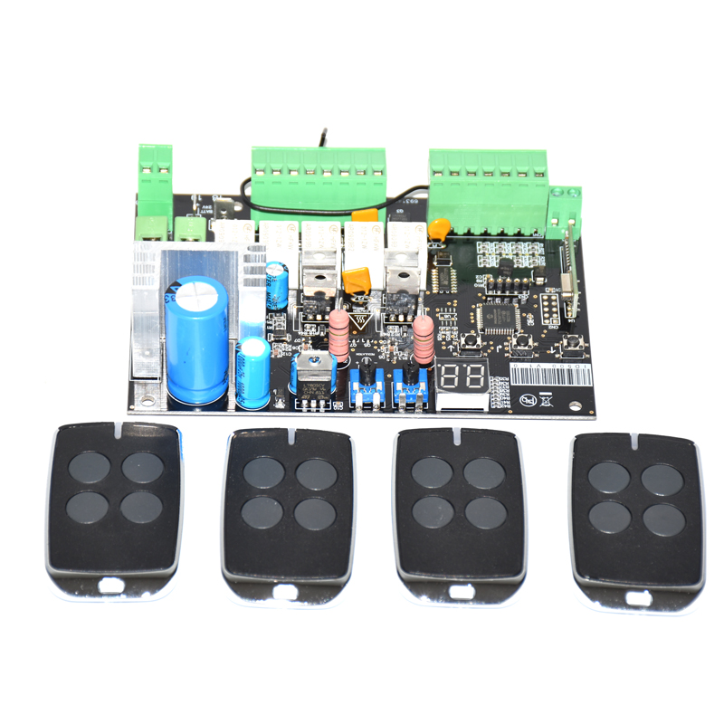 12V 24V DC all in one Opening Machine Motherboard Circuit Board Controller for Swing Gate Opener|Control Card Readers| |  - title=