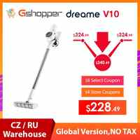 Dreame V10 Boreas Vacuum Cleaner xiaomi mijia Handheld Portable Wireless Cordless upgrade of V9 V9P collect pet hairs for home