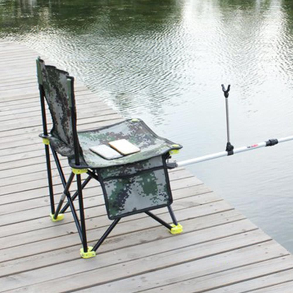Durable Fishing Chair Fishing Stool Oxford Cloth Travel Hiking Small Bench Seat Camping Chair Portable Picnic Outdoor