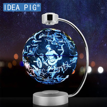 88 Constellations Magnetic Levitation Geography Globe with Night Light Floating World Map LED  Children Learning Toys