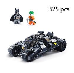 325 adet 7105 uyumlu lgoinglys kahraman bloğu Tumbler film figürü Batpod Batmobile Set yapı taşları çocuk oyuncakları teknik tuğla