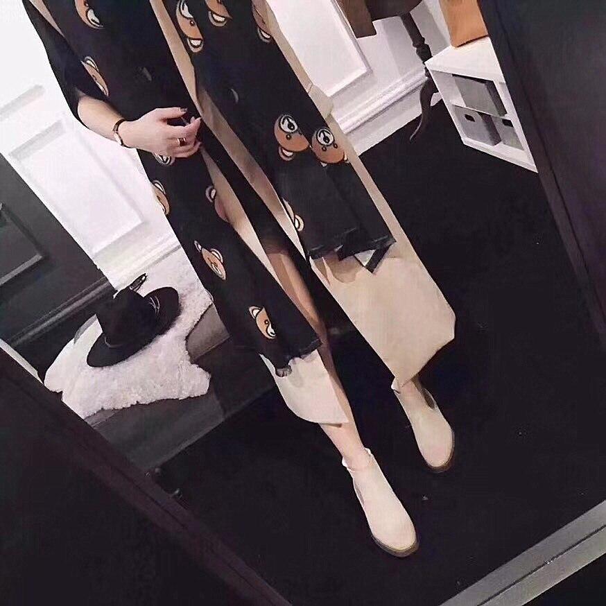 2019 Real Women Hijab Winter New Korean Version Of Female Clown Autumn Winter Warm Shawl Student Bear Design Imitation Cashmere