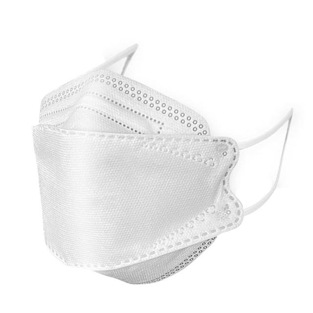 Face Masks 3PCS Face PM2.5 Valved Mask Anti Bacteria Filtered Flu Filter Earloop Masks For Germ Protection 1