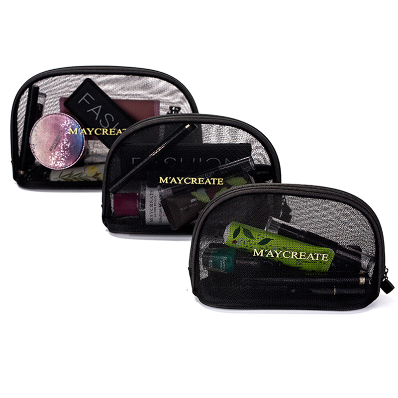 Make Up Bag Cosmetic Bag Portable Toiletries Bathroom Storage Bag For Travelling