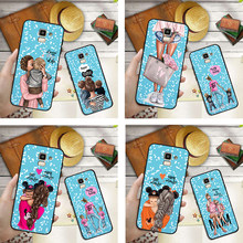 Mama Girl mom Baby Mouse DIY Custom Phone Case For Samsung Galaxy S10 S8 S6 S7 S9 J2 J3 J5 J7 J4 J6 J8 2018 Plus Etui Cover(China)