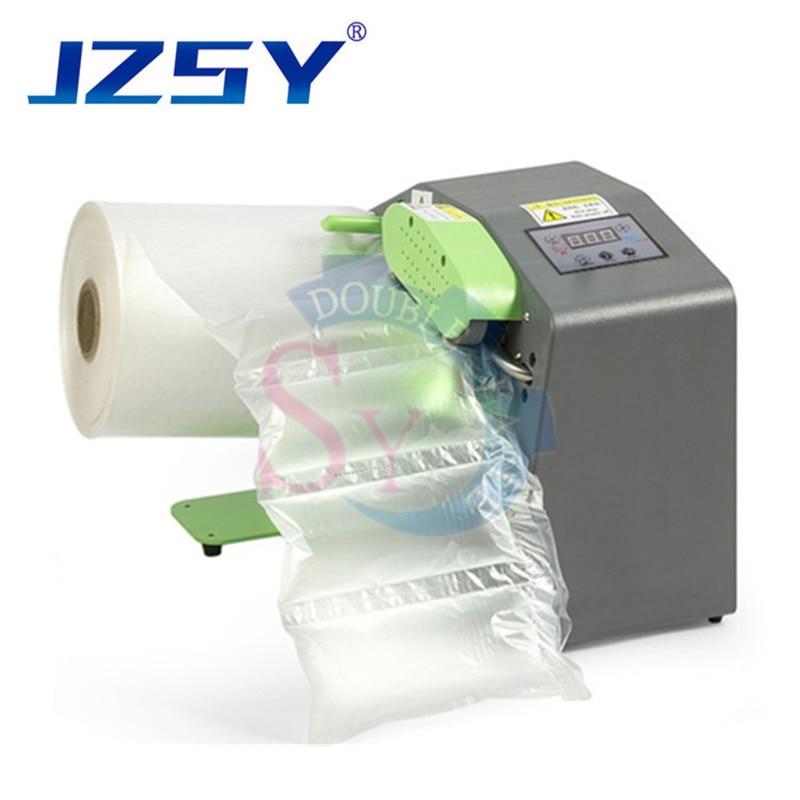 Bufor maszyna do poduszek powietrznych Inflator butelka gurda film express warstwie uderzeniowej bufor worek nadmuchiwany maszyna do produkcji 220 V/110 V SU/ ue
