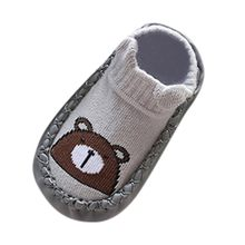 baby shoes Spring Autumn Lovely Baby Cotton Socks Animal Cartoon Newborn Gift Infant Boys Girls Kids Cute Floor Anti-slip loafer(China)