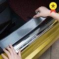 Автомобильный Стайлинг  авто наклейки  углеродное волокно  резиновая формовочная полоса  мягкая черная накладка  бампер  полоски  сделай са...