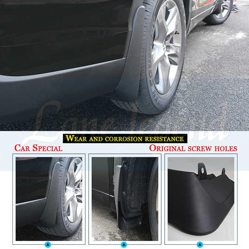 Parafango Paraspruzzi Mud Flap Set Anteriore Posteriore 4 pezzi per Peugeot 207