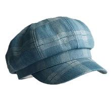 פיבונאצ י 2020 חדש אביב קיץ מתומן כובע גברים נשים כומתה משובצת רטרו מגן אמן כובע