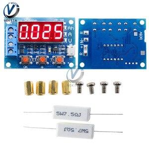 10 шт. цифровой светодиодный дисплей ZB2L3 тестер батареи 18650 литиевая батарея источник питания сопротивление свинцово-кислотная емкость Изме...