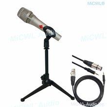 Про kms105 конденсаторный живой микрофон металлический 48 В