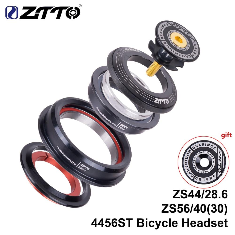 ZTTO 4456ST MTB Bike Road Bicycle Headset 44mm 56mm CNC 1 1/8