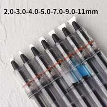1pc chinês paralelo caneta de tinta clara caneta 2/3/4/5/7/9/11mm nib opcional artigos de papelaria material escolar de escritório