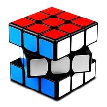 QiYi Профессиональный 3x3x3 магический куб скоростные кубики головоломка Нео Куб 3х3 Cubo Magico наклейка для взрослых Развивающие игрушки для детей подарок