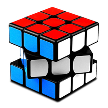 цена на QiYi Professional 3x3x3 Magic Cube Speed Cubes Puzzle Neo Cube 3x3 Cubo Magico Sticker Adult Education Toys For Children Gift