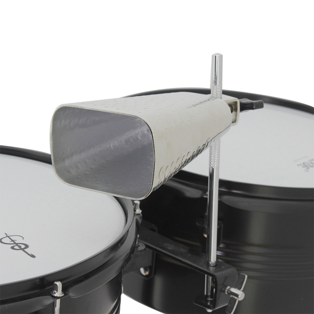 Gaoominy 6 Inch Adjustable Cowbell with Mounting Bracket Set for Drum Kit Tambourines LP Cowbells Mounting Accessories