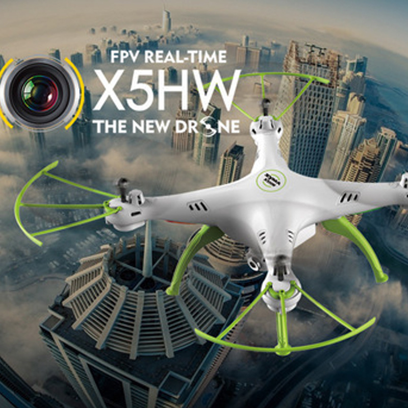 SYMA Sima X5hw Real-Time Aerial Photography Quadcopter Mobile Phone WiFi Unmanned Aerial Vehicle Telecontrolled Toy Aircraft
