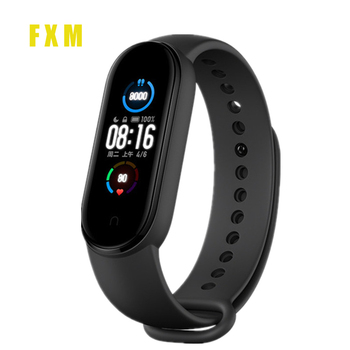 2020 Men's Sports Bracelet Watch M5 Pro Sport Fitness Tracker Smartband Smart Clock Blood Pressure Heart Rate Monitor Wristband new m5 smart band fitness tracker smart watch sport smart bracelet heart rate blood pressure smartband monitor health wristband