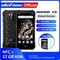 Ulefone Power X5 MT6763 Octa core ip68 прочный Водонепроницаемый Смартфон Android 9,0, мобильный телефон, 3 Гб оперативной памяти, 32 Гб встроенной памяти, NFC, 4G, LTE м...