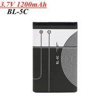 Bateria 3.7 mAh 1200 V BL-5C BL5C BL 5C Recarregável Baterias Para Nokia 2112 2118 2255 2270 2280 2300 2600 2610 3125 3230