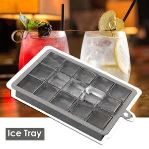 Mold Ice-Cube-Maker Ice-Tray Kitchen-Accessories Whisky Fruit Square-Shape Silicone Creative
