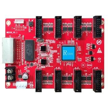 Плата управления светодиодным дисплеем HuiDu HD R508 R512 R516 R612 полноцветная принимающая карта HUB75