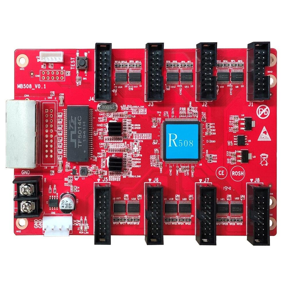 LED Display Control Card HuiDu HD-R508 R512 R516 R612 Full Color Receiving Card HUB75