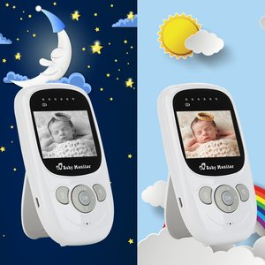 Image 5 - HYASIA Wireless Baby Camera 2way Talk Baby Monitor for Newborns Night Vision Temperature Security Radio Nanny Video Baby Monitor