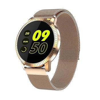 Men smart watch Μεταλλικό με tempered glass