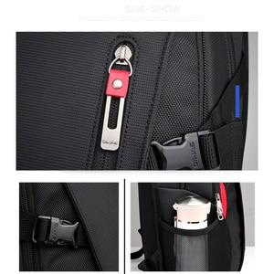 Image 5 - OIWAS School Bags 14 inch Laptop Backpacks Waterproof Nylon 29L Casual Shoulder Bagpack Travel Teenage Mens Backpack mochila