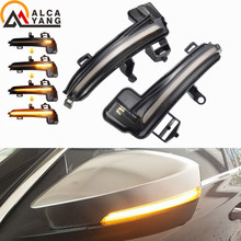 2x for Skoda Superb A7 Dynamic LED Turn Signal Blinker Sequential Side Mirror flasher Light 2016 2017 2018 2019